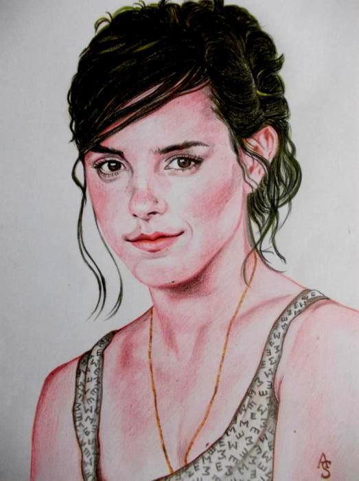 Emma Watson by abhik